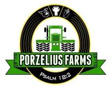 Logo Design for Porzelius Farms located in norther IL