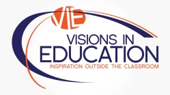 Visions in Education, logo design, located in UK and Hollister, MO